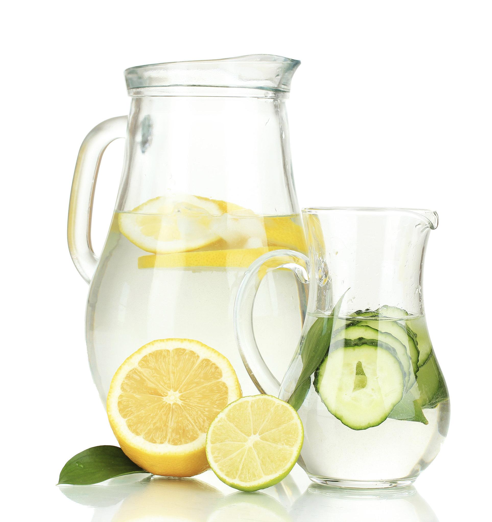 Water en citroen